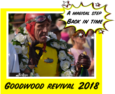 A magical step Back in time Goodwood revival 2018
